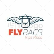 Fly Bags Logo Design