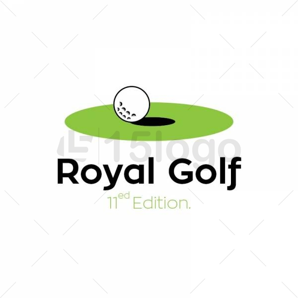 Royal Golf Logo Design