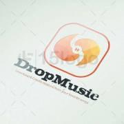 logotipo de diseño musical